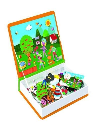 Bunjoy Magnetiq Hikaye Oluşturma Mevsimler (Diy-Toy Yayınları) Renkli